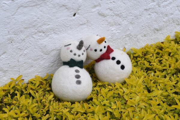 Snowman pierrot
