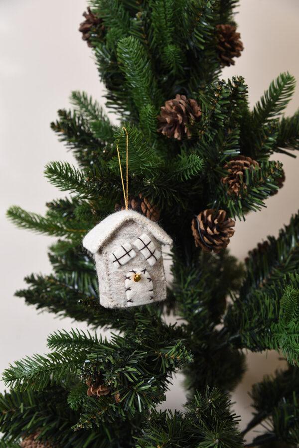 Snow house ornament