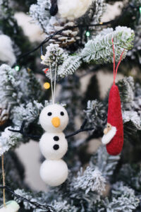 Snowman ornament set (3 in 1)