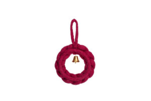 Wreath with bell