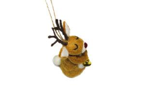 Reindeer & moon ornament set (2 in 1)