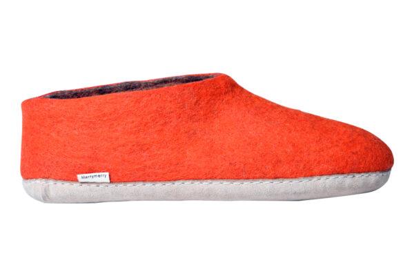 Felt room shoes (low cut)