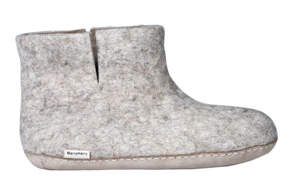 Felt room shoes (high cut)