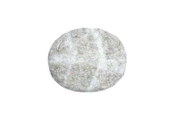 Felt stone coaster