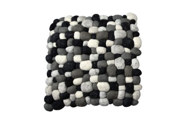 Felt stone cushion cover